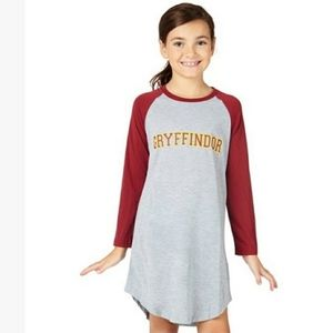 "Harry potter hogwarts ""GRYFFINDOR"" sleep dress 10"